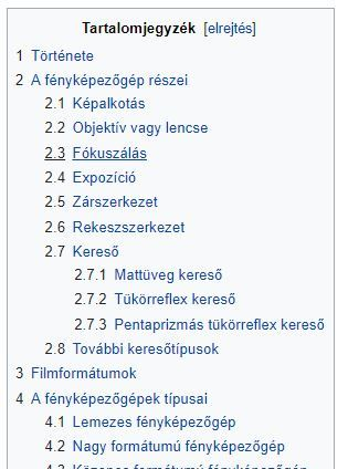 wikipedia tartalom