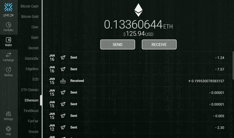 011. exodus wallet lista