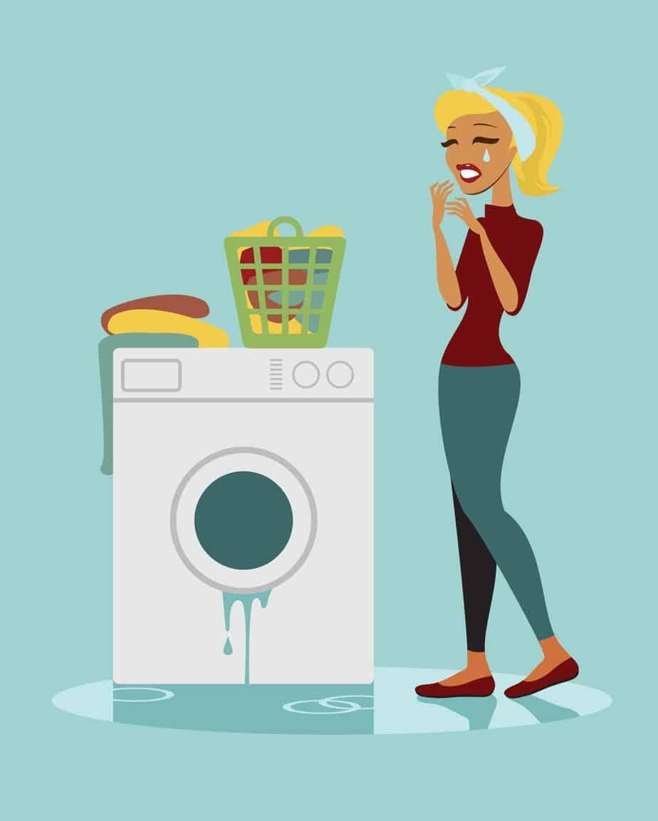 Broken washing machine - milyen jól jönne egy