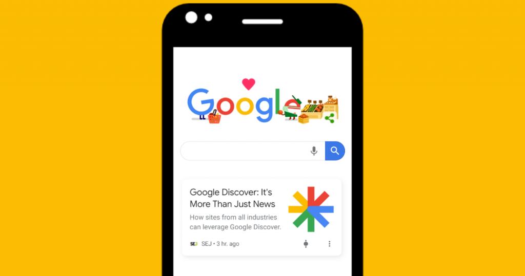 google discover hogy nez ki a gyakorlatban