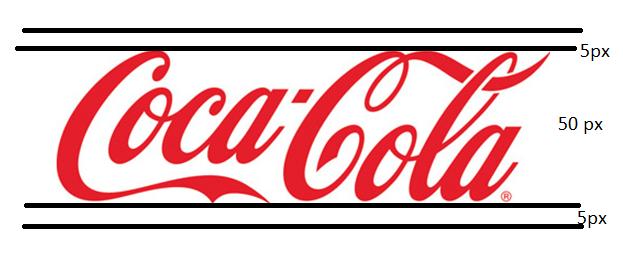 Coca Cola AMP logo példa